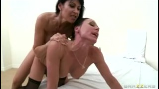 Dominant Big-boob MILF Eva Karera Fucks Kendra Lust With Strap-on