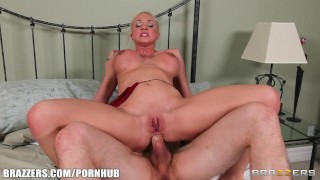Flexible Blonde Leya Falcon Has Her Ass Spread Wide & Fucked Hard