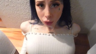 Cute Emo Teen Blows And Fucks Real Dick In Hotelroom