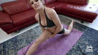 Step Mom Yoga Instructor Fucked By Step Son With Huge Cock – Cory Chase
