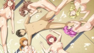 One Guy Had Group Sex With 6 Teens // Uncensored Hentai Anime