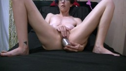 Masturbating With A Metal Baby Bottle