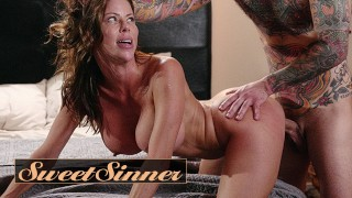 Sweet Sinner – Sexy Redhead Milf Alexis Fawx Fucks Young Male Stud Small Hands