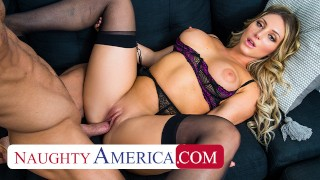 Naughty America – Kayley Gunner Wants A Promotion And She Will Fuck Her Boss For It!!