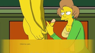 The Simpson Simpvill Part 5 Giving Hot Massage By LoveSkySanX