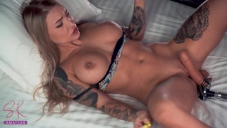 9 Multiorgasms And Squirts Online With Fuckmachine