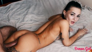 My Little Slut Cums And Flows From My Big Cock – DEMON GIRL