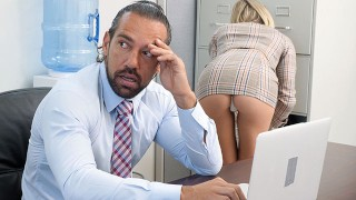 PASSION-HD Office Tease Gets Bosses Dick Hard