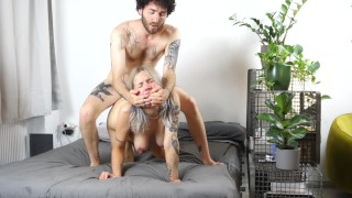 Pregnant Girlfriend Fucked Hard From Behind! Squirts, Tittyfucked And Gets A Huge Load!